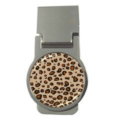 Leopard Print Money Clips (round)