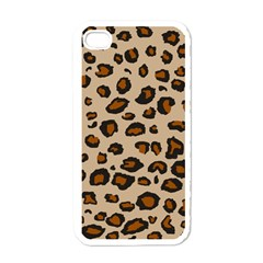 Leopard Print Apple Iphone 4 Case (white)