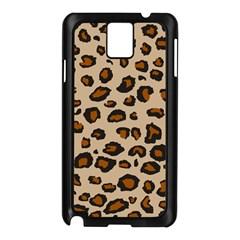 Leopard Print Samsung Galaxy Note 3 N9005 Case (black)