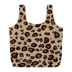 Leopard Print Full Print Recycle Bags (l)