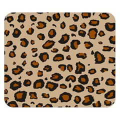 Leopard Print Double Sided Flano Blanket (small)