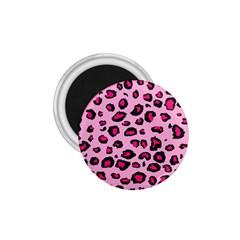 Pink Leopard 1 75  Magnets