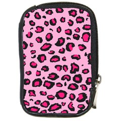 Pink Leopard Compact Camera Cases
