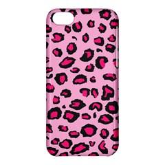 Pink Leopard Apple Iphone 5c Hardshell Case