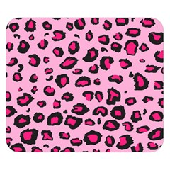 Pink Leopard Double Sided Flano Blanket (small)