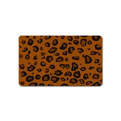 Dark Leopard Magnet (name Card)