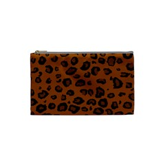 Dark Leopard Cosmetic Bag (small)
