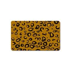 Golden Leopard Magnet (name Card)