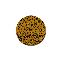 Golden Leopard Golf Ball Marker (4 Pack)