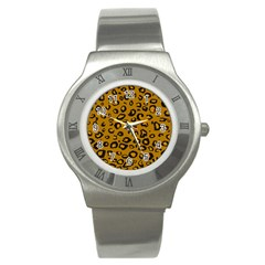 Golden Leopard Stainless Steel Watch
