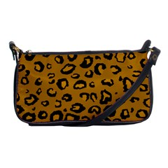Golden Leopard Shoulder Clutch Bags