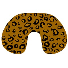 Golden Leopard Travel Neck Pillows