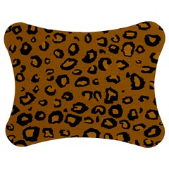 Golden Leopard Jigsaw Puzzle Photo Stand (bow)
