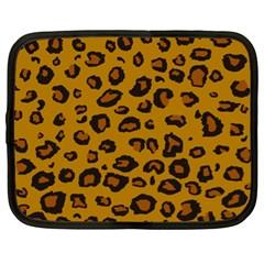 Classic Leopard Netbook Case (xl)