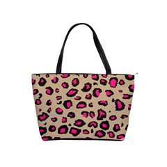 Pink Leopard 2 Shoulder Handbags