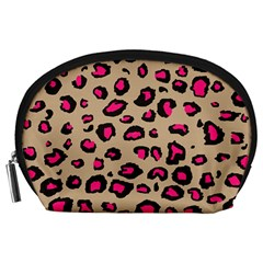 Pink Leopard 2 Accessory Pouches (large)