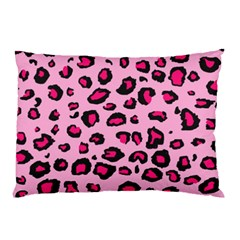 Pink Leopard Pillow Case (two Sides)