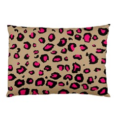 Pink Leopard 2 Pillow Case (two Sides)