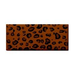 Dark Leopard Hand Towel
