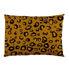 Golden Leopard Pillow Case (two Sides)