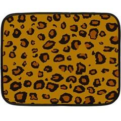 Leopard Double Sided Fleece Blanket (mini)