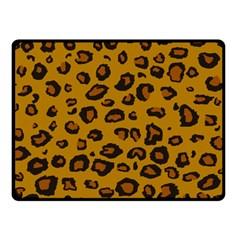 Leopard Double Sided Fleece Blanket (small)