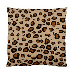 Leopard Print Standard Cushion Case (one Side)