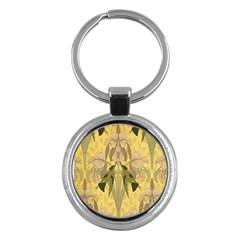 Art Nouveau Key Chains (round)