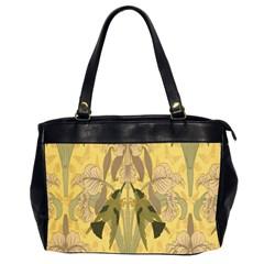 Art Nouveau Office Handbags (2 Sides)