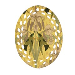 Art Nouveau Ornament (oval Filigree)