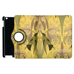 Art Nouveau Apple Ipad 2 Flip 360 Case