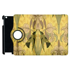 Art Nouveau Apple Ipad 3/4 Flip 360 Case