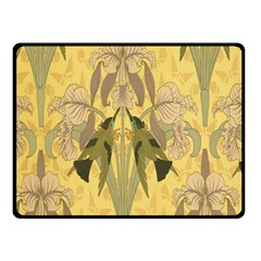 Art Nouveau Double Sided Fleece Blanket (small)