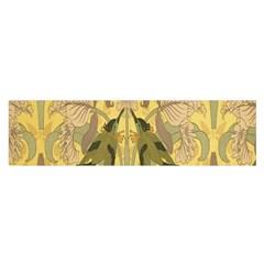 Art Nouveau Satin Scarf (oblong)
