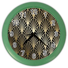 Art Deco Color Wall Clocks