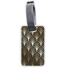 Art Deco Luggage Tags (two Sides)