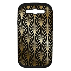 Art Deco Samsung Galaxy S Iii Hardshell Case (pc+silicone)