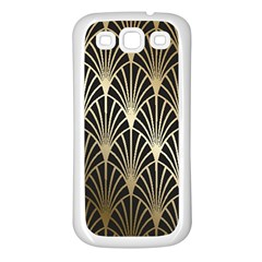 Art Deco Samsung Galaxy S3 Back Case (white)
