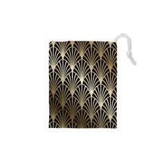 Art Deco Drawstring Pouches (xs)