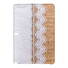 Parchement,lace And Burlap Samsung Galaxy Tab Pro 10 1 Hardshell Case