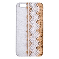 Parchement,lace And Burlap Iphone 6 Plus/6s Plus Tpu Case