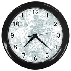 Countryblueandwhite Wall Clocks (black)