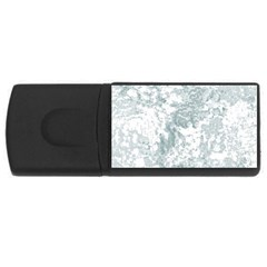 Countryblueandwhite Rectangular Usb Flash Drive