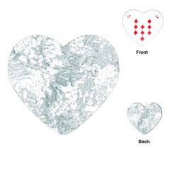 Countryblueandwhite Playing Cards (heart)
