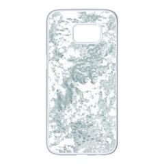 Countryblueandwhite Samsung Galaxy S7 Edge White Seamless Case