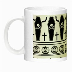 Halloween Pattern Night Luminous Mugs