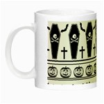 Halloween pattern Night Luminous Mugs Left