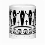 Halloween pattern Morph Mugs Center