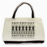 Halloween pattern Basic Tote Bag (Two Sides) Front