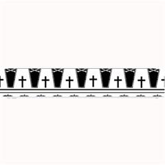 Halloween Pattern Small Bar Mats